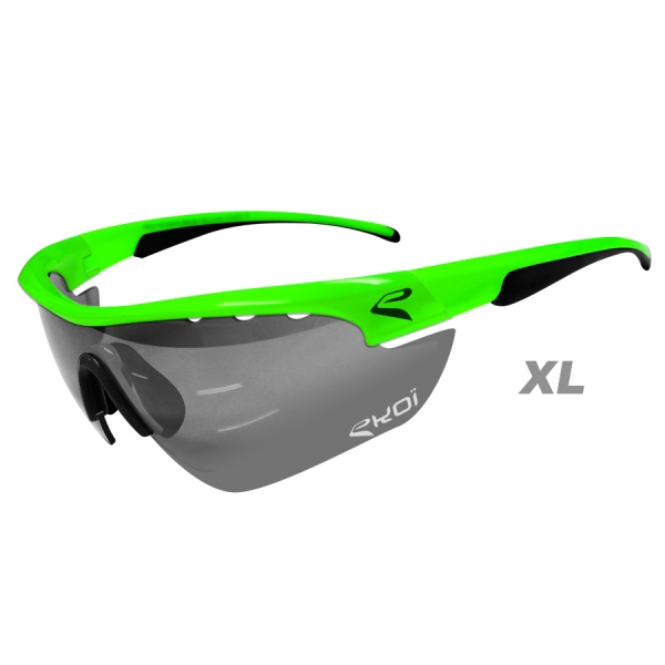 EKOI Multistrata Evo Limited edition XL green frame photochromic sunglasses