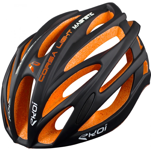 Hjelm EKOI CORSA LIGHT Sort Orange