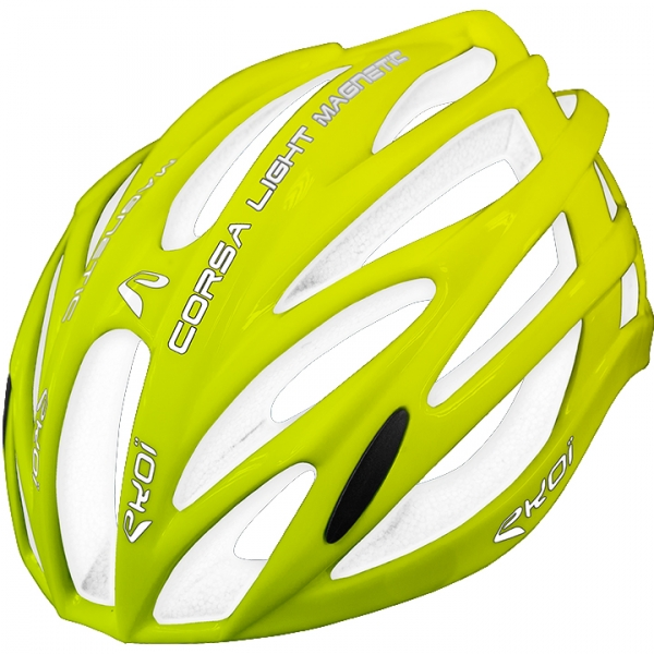Casque EKOI CORSA LIGHT Jaune fluo