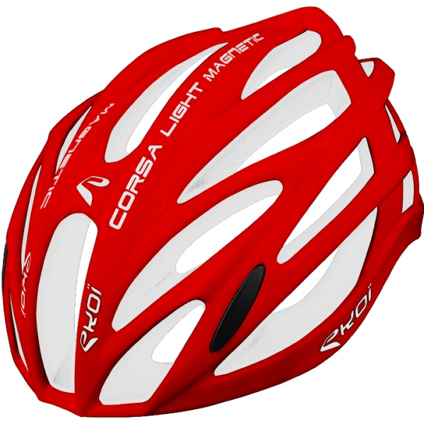 Casque EKOI CORSA LIGHT Rouge Blanc