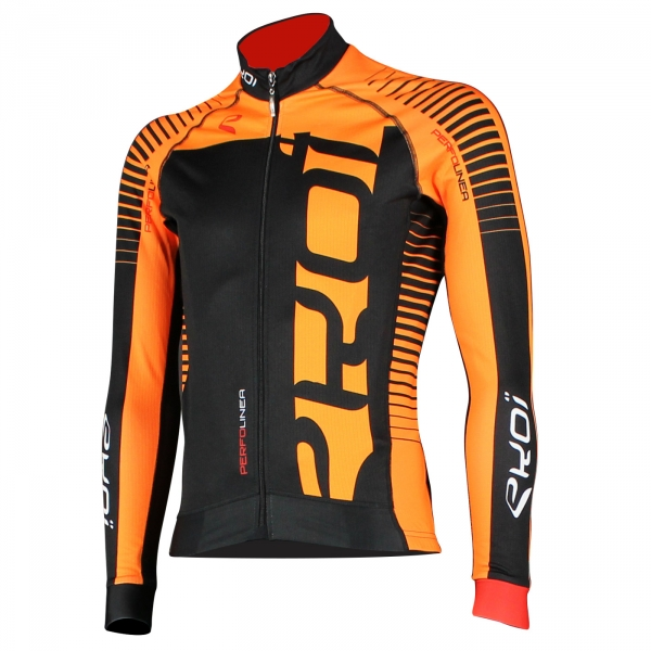Winter Jersey EKOI PERFOLINEA 2016 Neon Orange