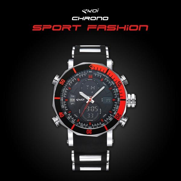 Montre EKOI Top Chrono Sport Fashion