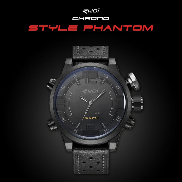 Watch EKOI Chrono Phantom Style