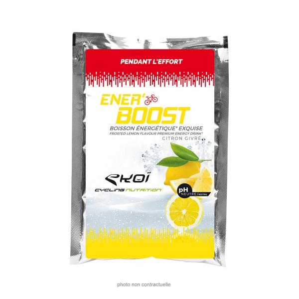 EKOI Frosted lemon Ener'boost energy drink 50 g sachet