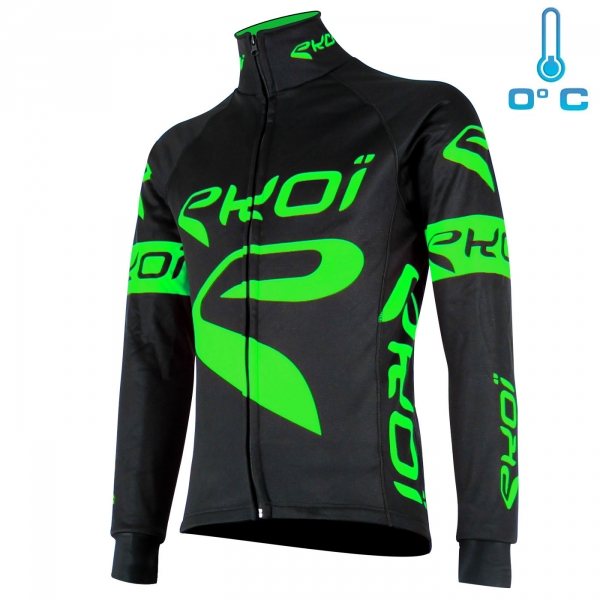 Thermal Jacket EKOI Team Black/Neon green
