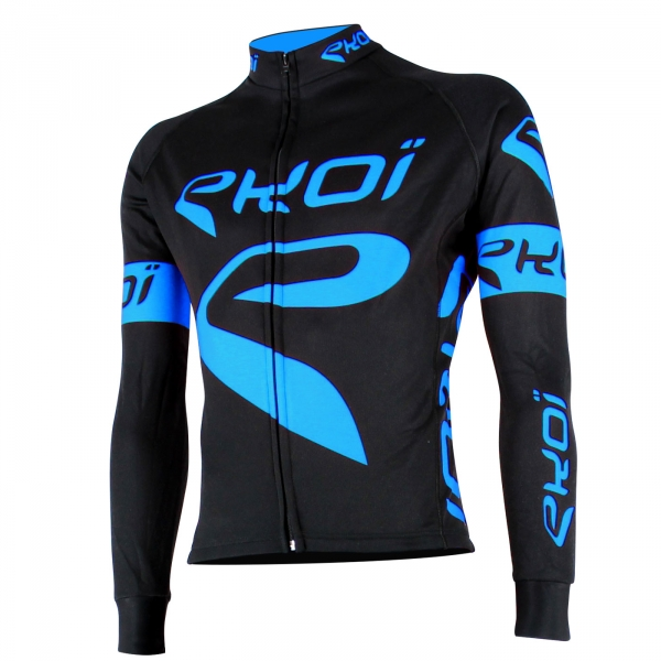 EKOI Team Black & blue long sleeve jersey