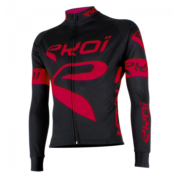 EKOI Team Black & red long sleeve jersey