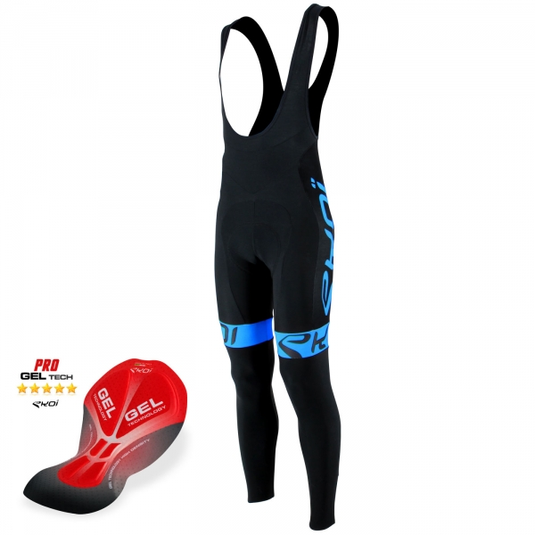 Bib Tight Gel EKOI Team Black/Bleu