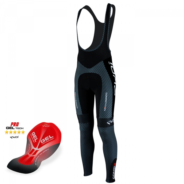 EKOI Competition9 Gel pad Carbon bib tights