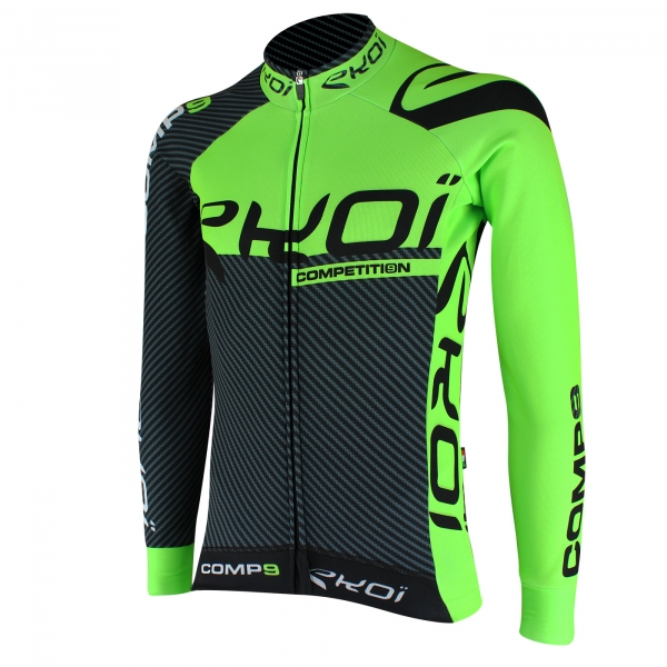 Wintershirt EKOI Competition9 Carbon Groen