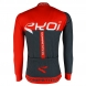 Maillot hiver EKOI Competition9 Carbone Rouge
