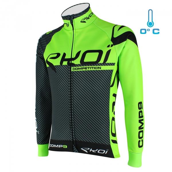 Veste thermique EKOI Competition9 Carbone Vert