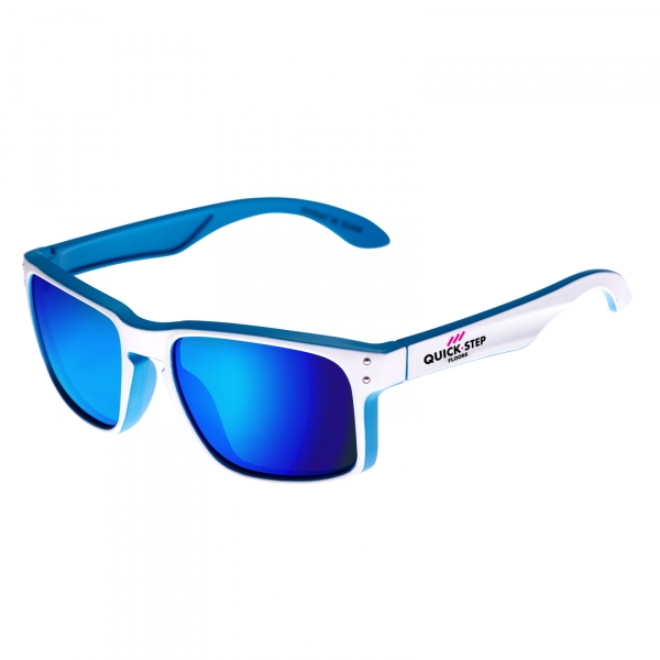 EKOI lifestyle white & blue Quickstep sunglasses