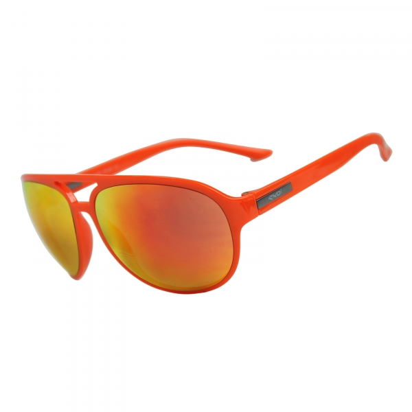 Sonnenbrille EKOI ROAD FASHION Schwarz Orange