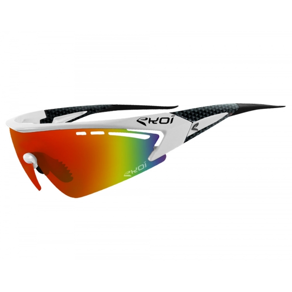 RS1 EKOI LTD XL Blanc Carbone Revo rouge
