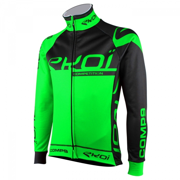 EKOI Competition9 black & fluo green thermal jacket