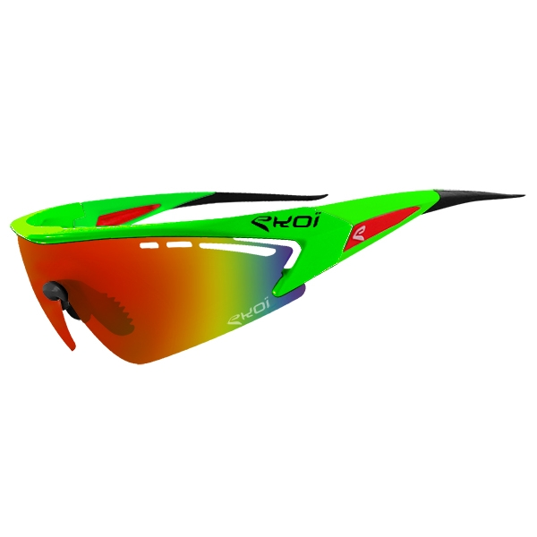RS1 EKOI LTD Verte fluo Revo Rouge