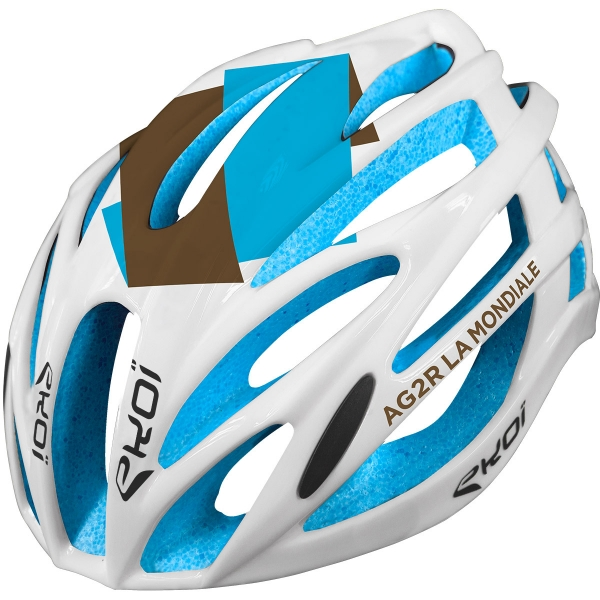 Casque EKOI CORSA LIGHT AG2R LA MONDIALE 2017