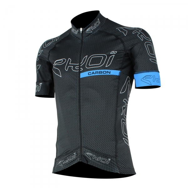 EKOI CARBON FIBER BLACK & BLUE JERSEY