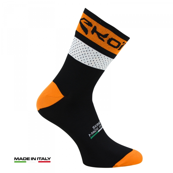 EKOI COMP 2017 black & orange summer cycling socks
