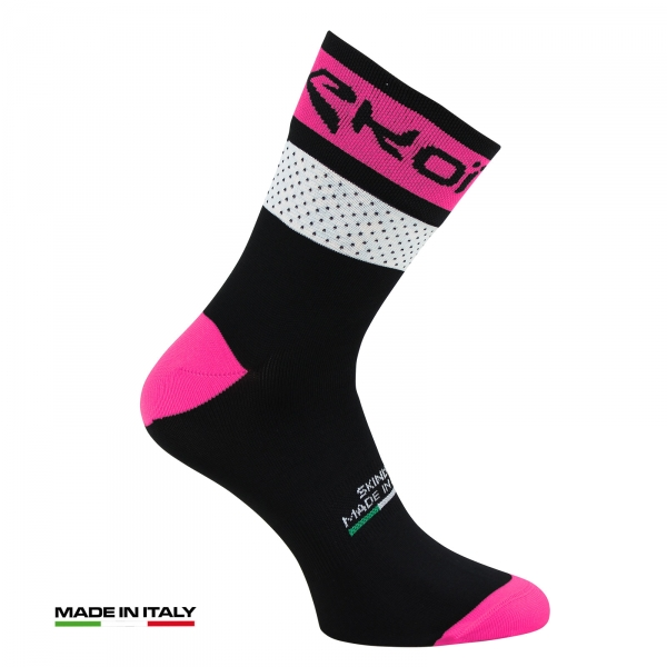 EKOI COMP 2017 black & pink summer cycling socks