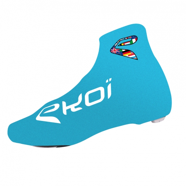 EKOI COMP 2017 blue summer cycling overshoes