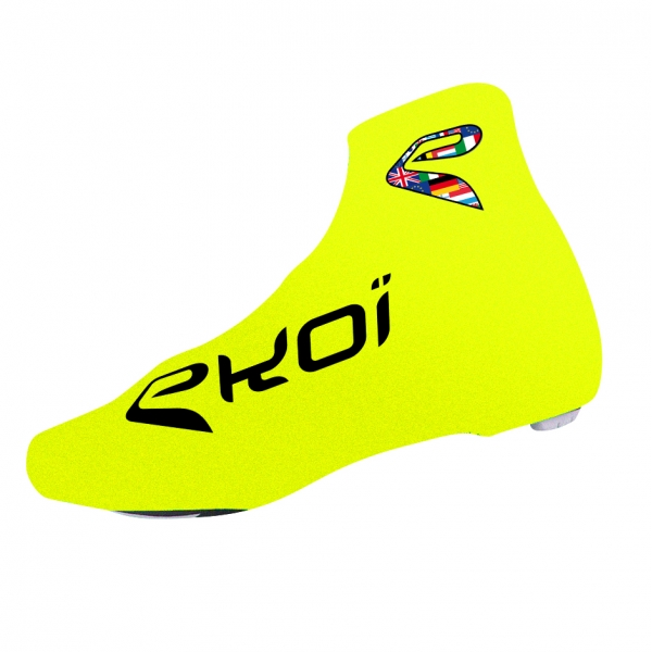 EKOI COMP 2017 fluo yellow summer overshoes