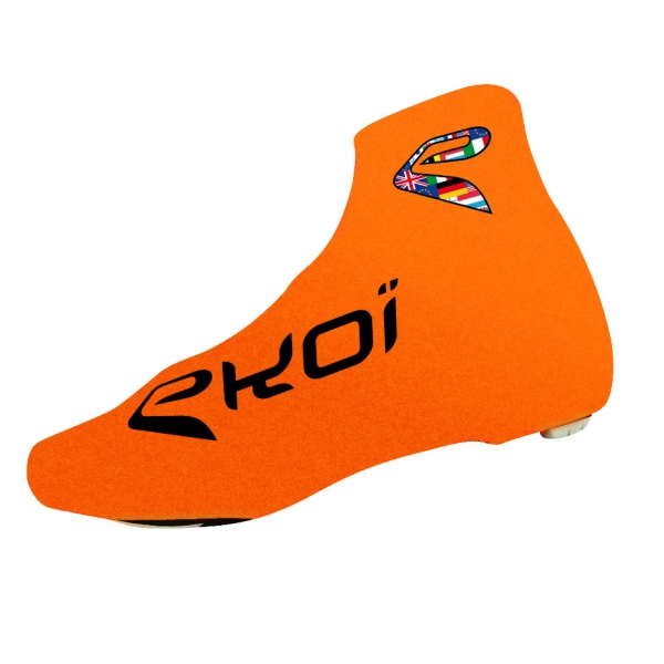 EKOI COMP 2017 fluo orange summer overshoes