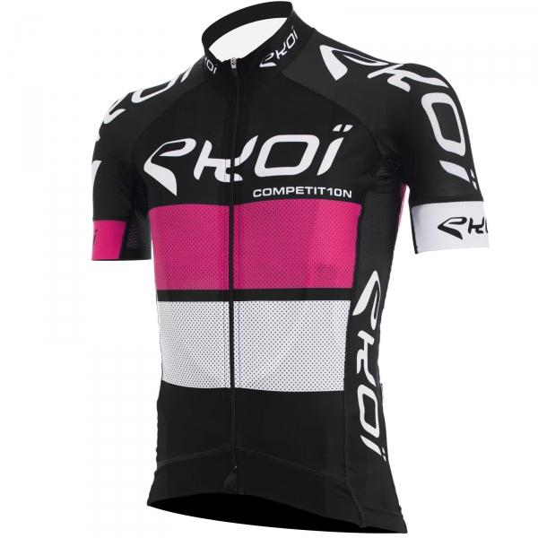 Trøje EKOI COMP10 sort pink/hvid