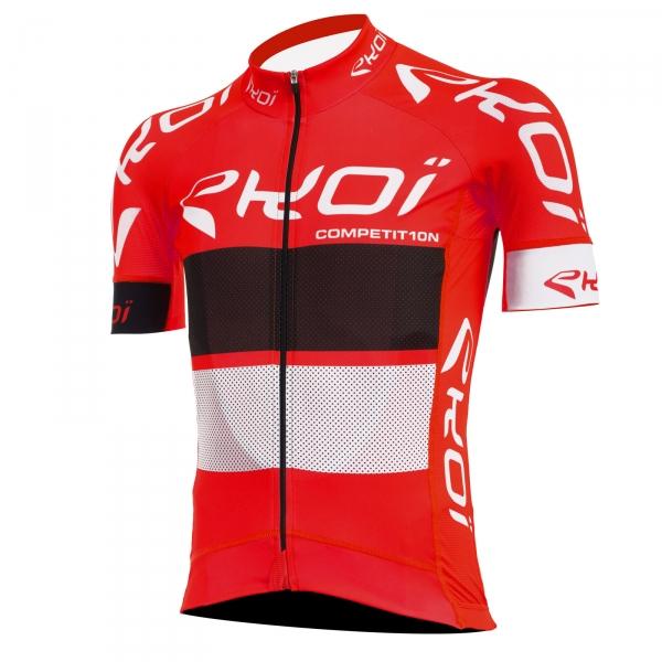 Maillot EKOI COMP10 Rouge noir blanc