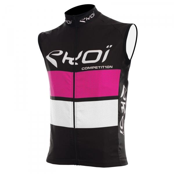 Camisola corta-vento EKOI COMP10 Preto rosa branco