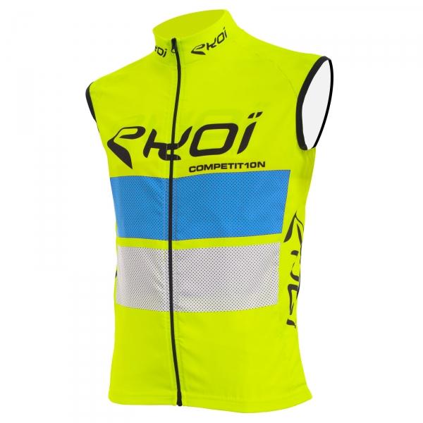 Camisola corta-vento EKOI COMP10 Amarelo azul branco
