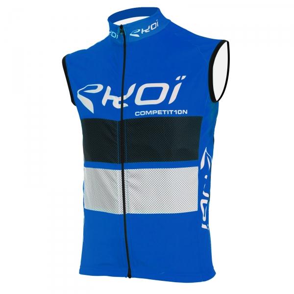 Camisola corta-vento EKOI COMP10 Azul preto branco