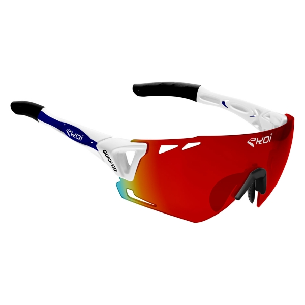 EKOI Limited Edition QUICK STEP REVO red PERSOEVO6 glasses