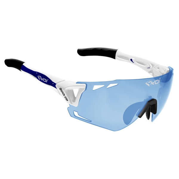 EKOI Limited Edition QUICK STEP blue photochromic Cat 1-2 PERSOEVO6 glasses