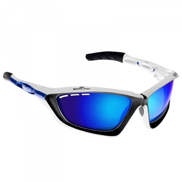 EKOI Fit First limited edition QUICKSTEP sunglasses Revo blue lens