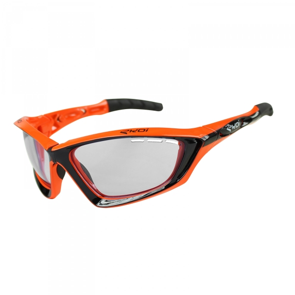 EKOI Fit First limited edition black & orange sunglasses clear Cat 0 lens