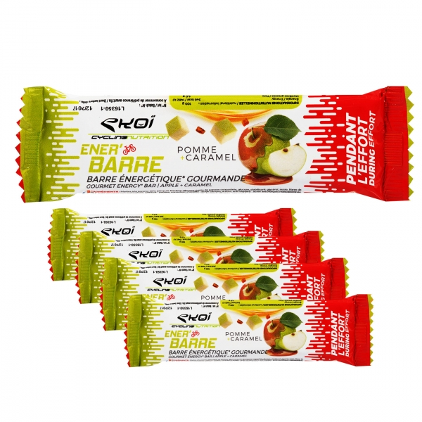EKOI Apple & caramel Ener'bar (5 bars)