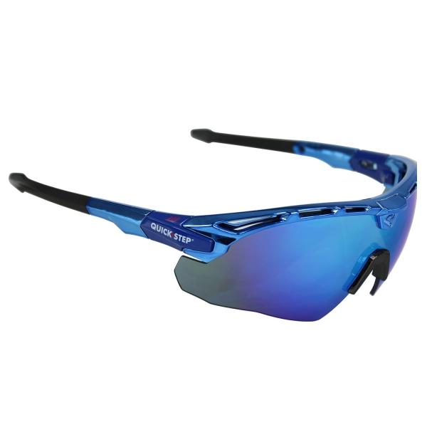 Okulary Guerra EKOI LTD ALAPH z niebieskimi szkłami Revo