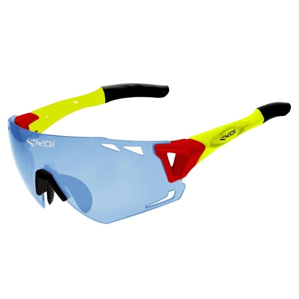 EKOI Persoevo6 Limited edition Phil photochromic blue Cat1-2 glasses