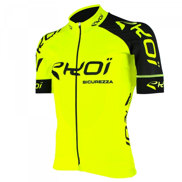 EKOI SICUREZZA 2 yellow fluo short sleeve jersey