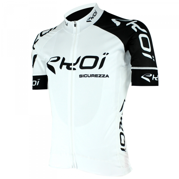 EKOI SICUREZZA 2 White short sleeve jersey