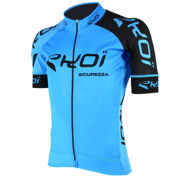 EKOI SICUREZZA 2 Blue short sleeve jersey