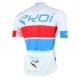 EKOI COMP10 trøje, hvid, rød, blå