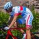 EKOI COMP10 GEL BREATH cykelshorts, hvid, rød, blå