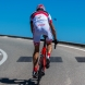 EKOI COMP10 GEL BREATH cykelshorts, hvid, sort, rød