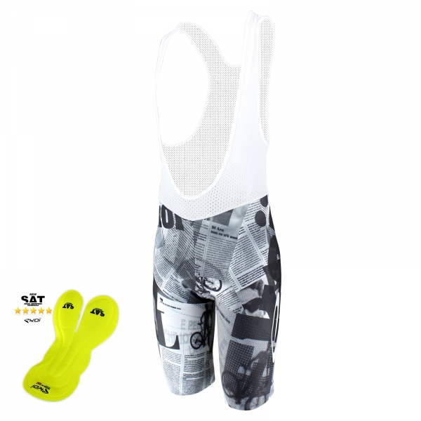 EKOI Gazetta Limited Edition NSAT bibshort