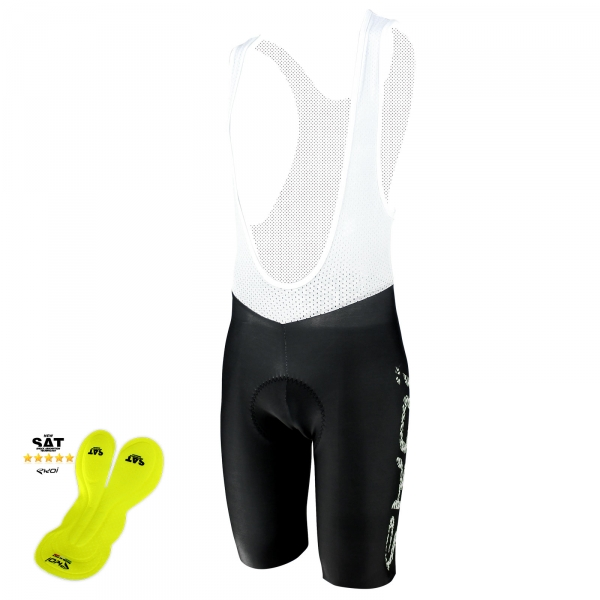 EKOI Perfolinea3 white bib short with NSAT insert