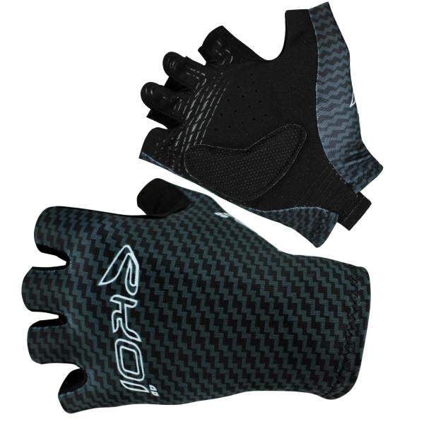 EKOI CARBON short-fingered cycling gloves
