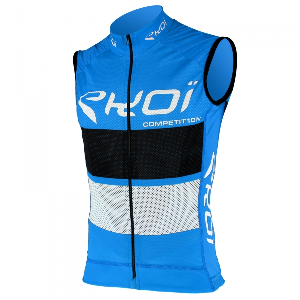 EKOI COMP10 Blue Black White sleeveless jersey
